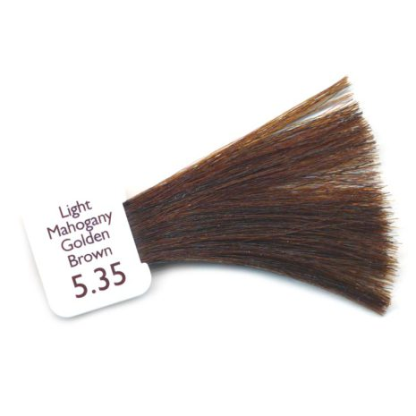 N5.35 - Light Mahogany Golden Brown