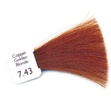 N7.43 - Golden Copper Blonde