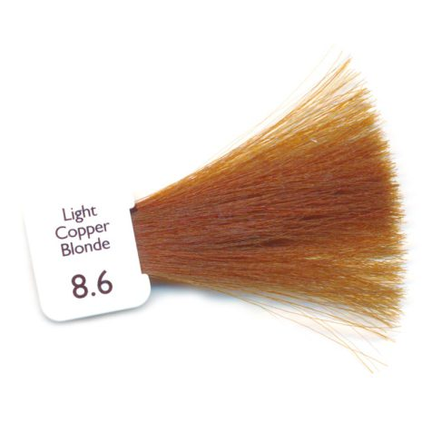 N8.6 - Light Copper Blonde