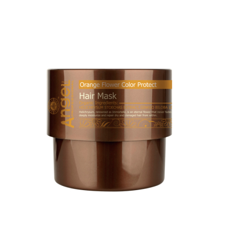 Orange Flower Color Protect Hair Mask